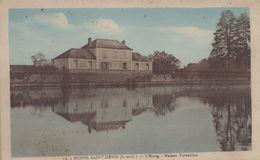 Le Mesnil-Saint-Denis : L'Etang - Maison Forestière - Le Mesnil Saint Denis