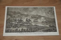 8191-    WATERLOO, LE PRINCE D'ORANGE A LA TETE DES TROUPES BELGO-NEERLANDAIS - Waterloo