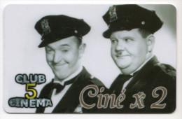 FRANCE CARTE CINEMA LAUREL ET HARDY - Cinéma