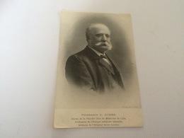 BP - 1600 - Professeur G.AUGIER - Doyen De La Faculté De Medecine De Lille - Famous People