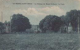 Le Mesnil-Saint-Denis : Le Château DuMesnil St-Denis - La Prairie - Le Mesnil Saint Denis