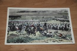 8193-    WATERLOO 1815, LE MARECHAL NEY CHARGEANT A LA TETE DE LA GARDE - Waterloo
