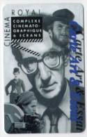 FRANCE CARTE CINEMA WOODY ALLEN CINEMA ROYAL - Cinéma