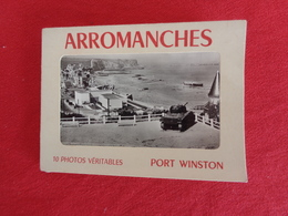 Arromanches (10 Photos Véritables) Port Winston - Autres Collections