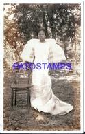 108761 PHILIPPINES MANILA COSTUMES WOMAN POSTAL POSTCARD - Philippines