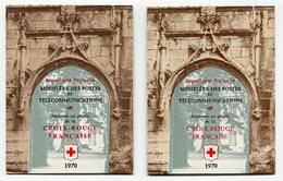 RC 11916 FRANCE N° 2019a - 1970 CARNETS CROIX ROUGE VARIÉTÉ DE COUVERTURE COTE 90€ NEUF ** TB - Red Cross