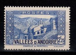 Andorre - YV 84 N** Cote 20 Euros - Andorre Français