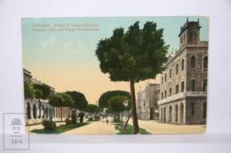 Postcard - Postal Cuba - Habana Prado Y Casino Español - Spanish Club And Prado Promenade - Year 1916 - Cuba