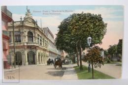 Postcard - Postal Cuba - Habana Prado Y Diario De Marina - Prado Promenade - Circulated Year 1916 - Cuba
