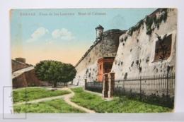 Postcard - Postal Cuba - Habana Foso De Los Laureles - Moat Of Cabanas - Year 1915 - Cuba