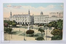 Postcard - Postal Cuba - Habana Parque Central - Central Park - Year 1916 - Cuba
