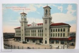 Postcard - Postal Cuba - Habana Estación Terminal - Central Railway Station - Year 1916 - Cuba
