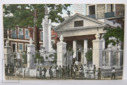 Postcard - Postal Cuba - El Templete Columbus Memorial Chapel - Year 1917 - Cuba