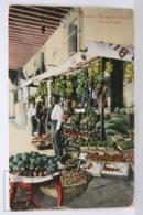Postcard - Postal Cuba - Habana Puesto De Frutas - Fruit Stand - Year 1916 - Cuba