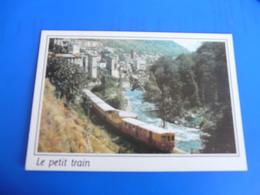 LUMIERE ET COULEURS DU CONFLRENT : OLETTE (66360) Et Le Petit Train Jaune - France