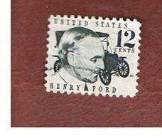 STATI UNITI (U.S.A.) - SG 1269 - 1968  PROMINENT AMERICANS: H. FORD    - USED° - Stati Uniti