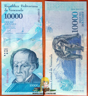 Venezuela 10000 Bolivares 2016 UNC Specimen P-98as - Venezuela