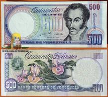Venezuela 500 Bolivares 1990 UNC Proof Or Error - Venezuela