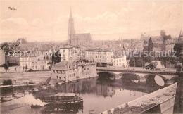 13275230 Metz_Moselle Stadtpanorama Mit Kathedrale Metz_Moselle - Metz Campagne