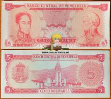 Venezuela 5 Bolivares 1989 UNC Proof Or Error - Venezuela