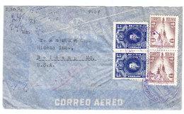 Bolivia AIRMAIL COVER TO Belcamp USA WWII 1941 - Bolivia