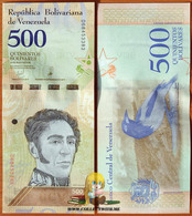 Venezuela 500 Bolivares 2018 UNC - Venezuela