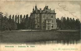 130319C - BELGIQUE HAINAUT - PERUWELZ Château M DUEZ - Péruwelz
