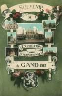 130319C - BELGIQUE FLANDRE OCCIDENTALE - GAND Souvenir De L'exposition Internationale De 1913 - Multivues - Bélgica