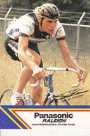 CPM Autographe Original Coureur Cycliste Gert-Jan THEUNISSE Sport Vélo Bicyclette Cycling Radsport (2 Scans) - Cyclisme
