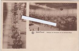 SINT-TRUIDEN-FABRIQUE DE BONNETERIE DE LA GERMANO-BELGE-UITGAVE-VANWEST-VERZONDEN KAART-1910-ZEER ZELDZAAM-ZIE 3 SCANS - Sint-Truiden