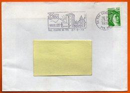 64 PAU   HIVER ETE  1979  Lettre Entière N° EE 974 - Sellados Mecánicos (Publicitario)