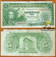 Colombia 5 Pesos Oro 1960 P-405 - Colombie