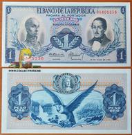 Colombia 1 Peso Oro 1972 UNC P-404e - Colombie