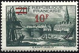 France 1941 - Mi 494 - YT 492 ( Port Of Saint-Malo ) MNH** - Frankreich