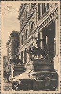 Palazzo Della Corporazioni, Piazza Della Borsa, Napoli, 1941 - Alterocca Cartolina - Napoli (Naples)