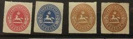 GERMANY Braunschweig Brunswick 1865 Mint Examples - Braunschweig