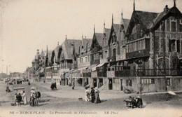 BERCK-PLAGE. - La Promenade De L'Esplanade - Berck