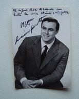 Autografo Luciano Pavarotti 1965 Foto Amista Modena Lirica - Autografi