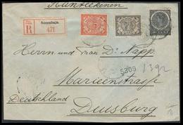 DUTCH INDIES. 1911. Soerabaia - Germany. Reg Multifkd Env. Fine. - Niederländisch-Indien