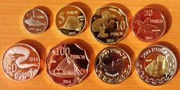 Easter Island Complete Set 2014 UNC - Monnaies