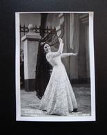 Autografo Gloria Lane Carmen Foto Piccagliani Teatro Alla Scala 1959-60 Lirica - Autografi