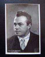 Autografo Aldo Bertocci Tenore Foto Guzzoni Teatro Alla Scala Milano Lirica - Autografi