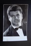 Autografo Carlo Cossutta Tenore Foto Fotesa Buenos Aires Lirica Guth - Autografi