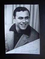 Autografo Luciano Pavarotti Tenore Modena 1961Lirica - Autographes