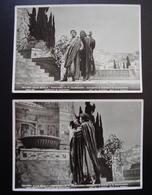 Teatro Alla Scala Nerone Mascagni  2 Foto Cartolina Crimella Lirica - Autographes