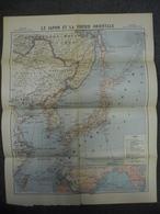 Carte De Septembre 1918 - Le JAPON Et La SIBERIE ORIENTALE - Chine Mongolie Corée - Cartes Géographiques