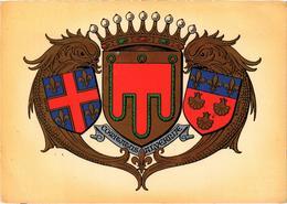 Armoiries D' Auvergne Très Très Rare - Belgique
