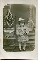 CARTE PHOTO(ENFANT) NOEL - Fotografia