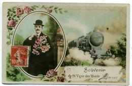 50 ST VIGOR DES MONTS ++ Souvenir De ... ++ - Autres Communes