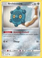 SERIE DUO DE CHOC ARCHEOMIRE N° 100/181 - Pokemon